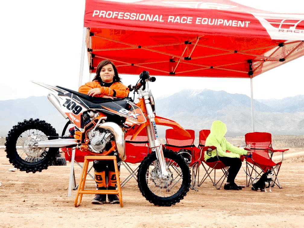 Custom Motocross Racing Pop Up Tent Canopy