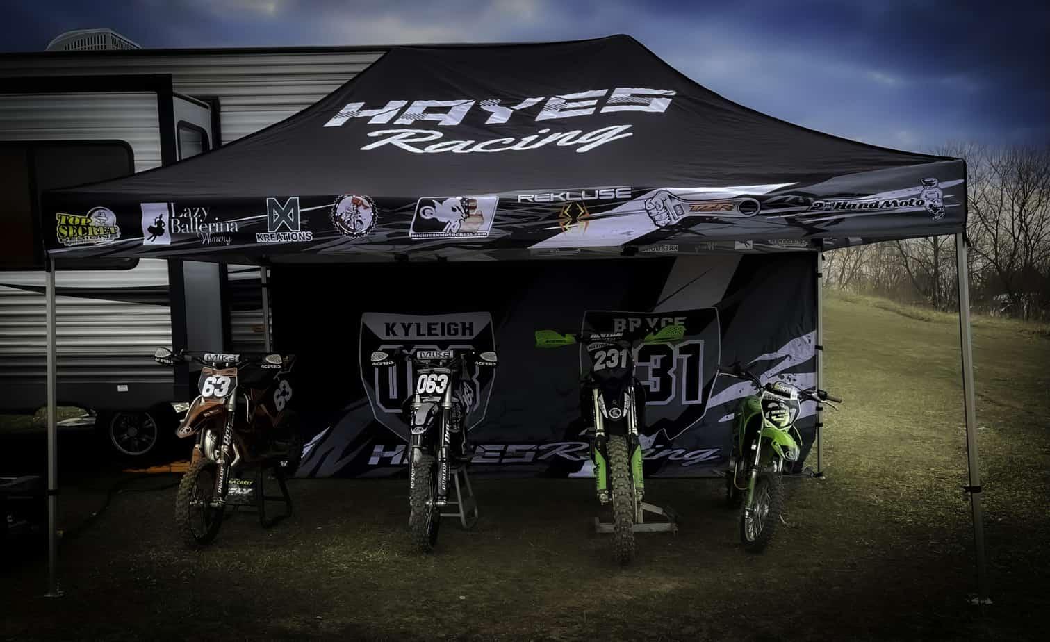 Custom-Pop-Up-Tent-Canopy-Racing-Hayes