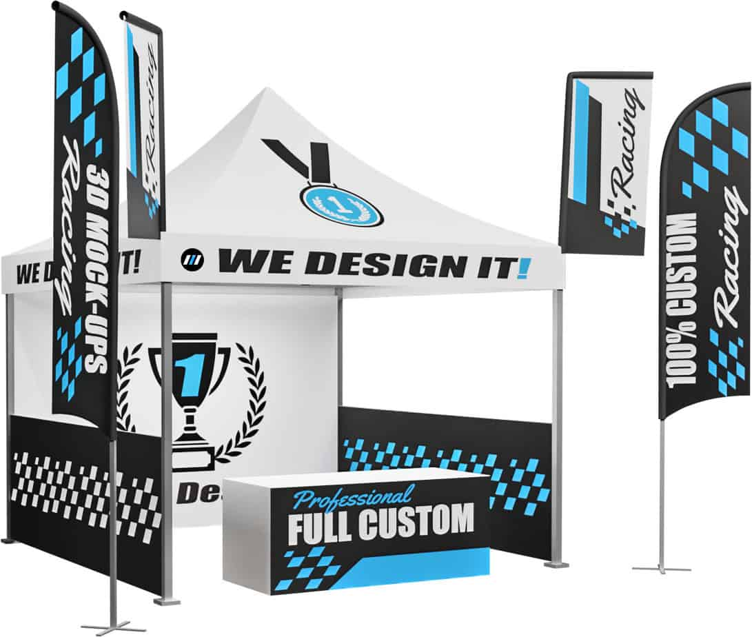 Design Build Your Own 10x10 Custom Racing Tent Canopy