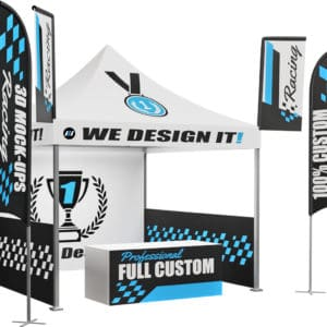 Build Your Own 10x10 Custom Racing Tent Canopy