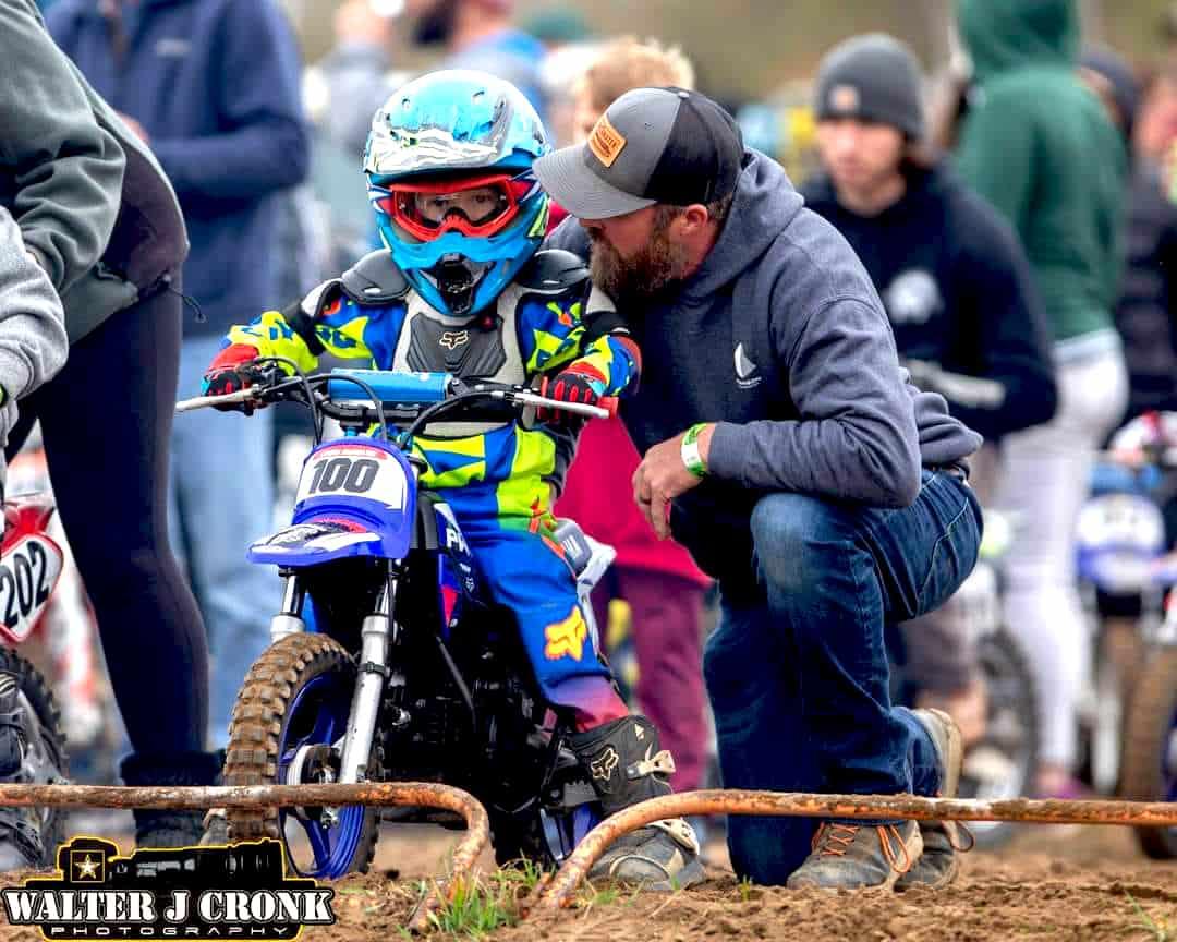 Motocross Moto Racing Dad