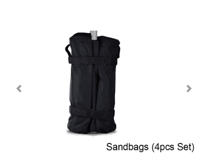 Tent Leg Sandbag Weights