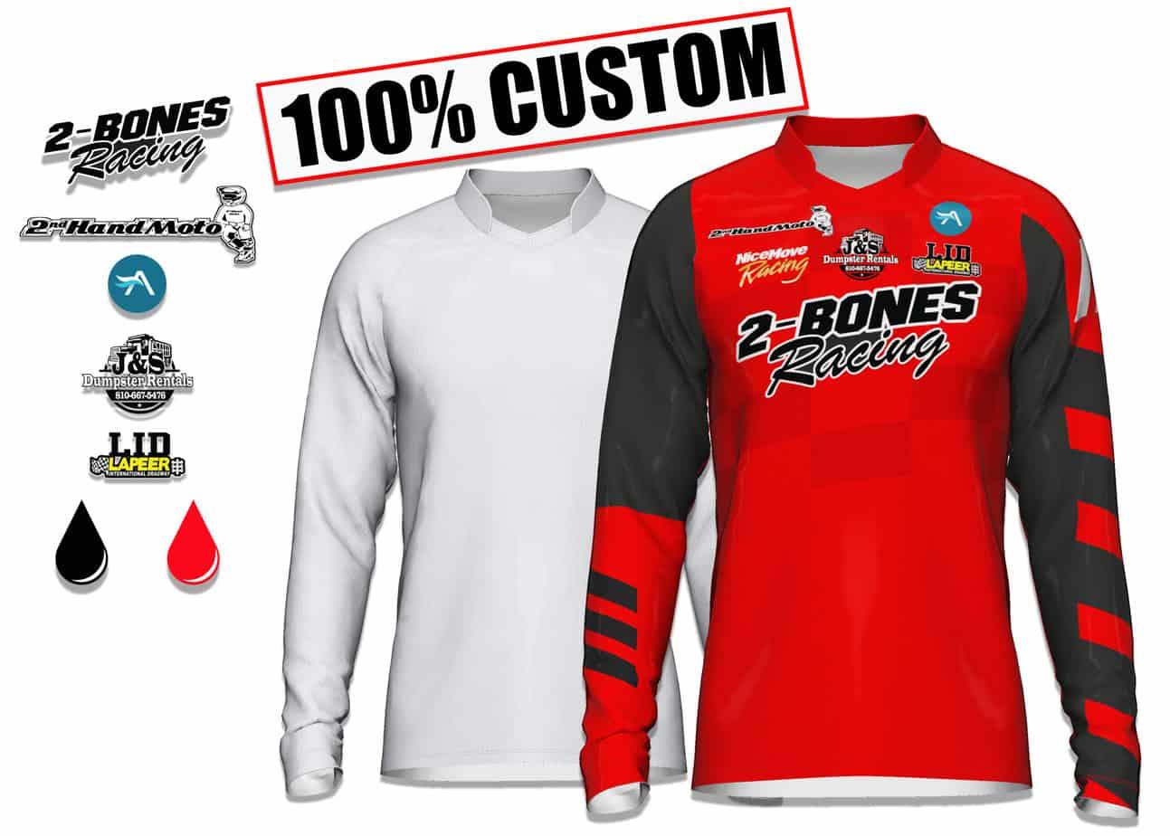 Make Your Own Custom Motocross MX Jersey
